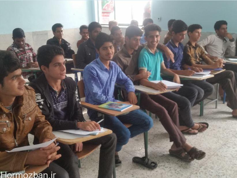 اجرای طرح زکات علمی در دبیرستان ابوریحان هشت بندی هشتبندی