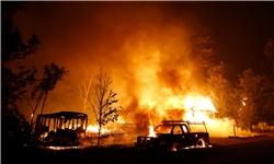 شاهمراد جعفری: مهار آتشسوزی در جنگلهای حفاظت شده هماگ حاجیآباد