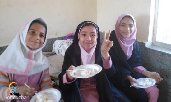 جشن میلاد امام حسن عسکری(ع) در دبستان بنت الزهراء هشت بندی