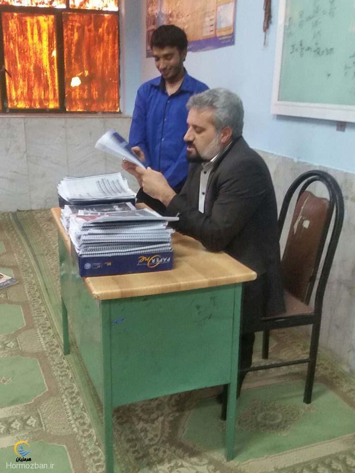 برگزاری کارگاه کنکور شناسی در دبیرستان شبانه روزی ابوریحان هشت بندی