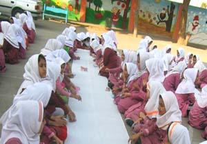 برگزاری نقاشی همگانی دانش آموزی در بستک