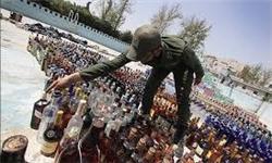 کشف بیش از ۵۰۰ قوطی مشروبات الکلی در جاسک