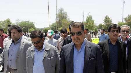 قدردانی استاندار هرمزگان از حضور گسترده مردم استان در راهپیمایی روز جهانی قدس