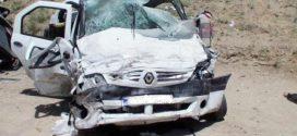 یک کشته و ۲ مجروح در اثر واژگونی خودرو ال ۹۰