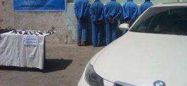 دستگیری اعضای باند گروگان گیری در بندرعباس