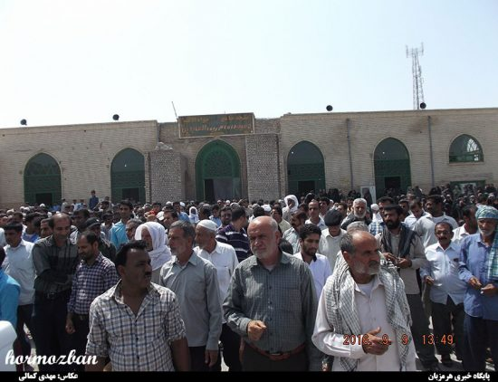 گزارش تصویری / حضور چشمگیر مردم هشت بندی در راهپیمایی نمازگزاران در محکومیت جنایات آل سعود