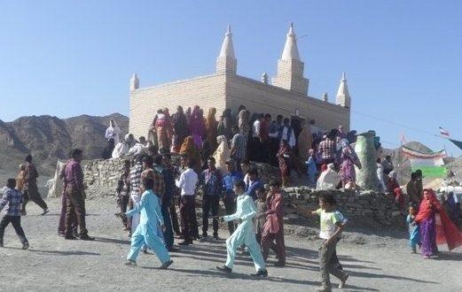 سید نجم الدین امامزاده ای در اعماق کوه های بشاگرد