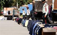 سرهنگ محمود حافظی: کشف دو هزار و ۳۵۲ ثوب البسه خارجی قاچاق در بندرلنگه