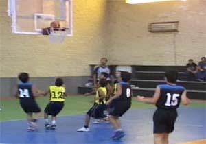 حضور تیم مینی بسکتبال هرمزگان در مسابقات کشوری