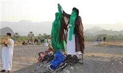 بازسازی واقعه غدیر در روستای اسلام آباد رودان