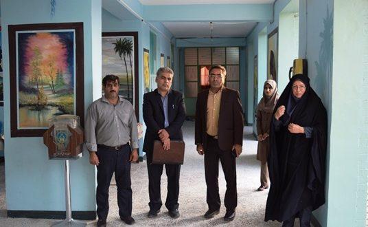 بازدید نمایندگان وزارت ازمدارس شهرستان میناب