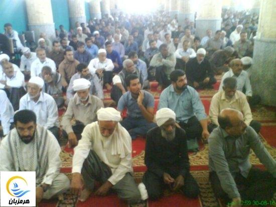 گزارش تصویری / حضور گسترده مردم در نماز جمعه هشت بندی