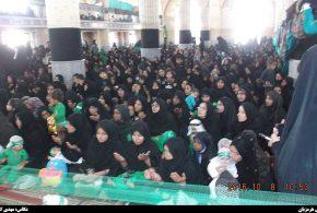 سوگواره شیرخوارگان حسینی در مسجد جامع هشت بندی برگزاری شد + تصاویر