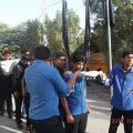 اعزام دانش آموزان پسر میناب به اردوهای راهیان نور دریایی در خلیج فارس + تصاویر