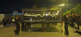 مراسم شام غریبان به یاد غریبی خاندان حضرت اباعبدالحسین (ع) در رودان برگزار شد + تصاویر