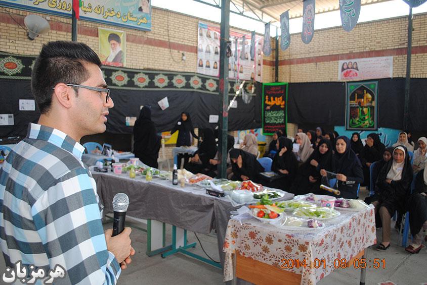 گزارش تصویری/ اولین جشنواره غذایی طعم سلامت در شهرستان میناب