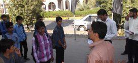 تصاویر اعزام دانش آموزان میناب به اردوی راهیان نور (خوزستان)