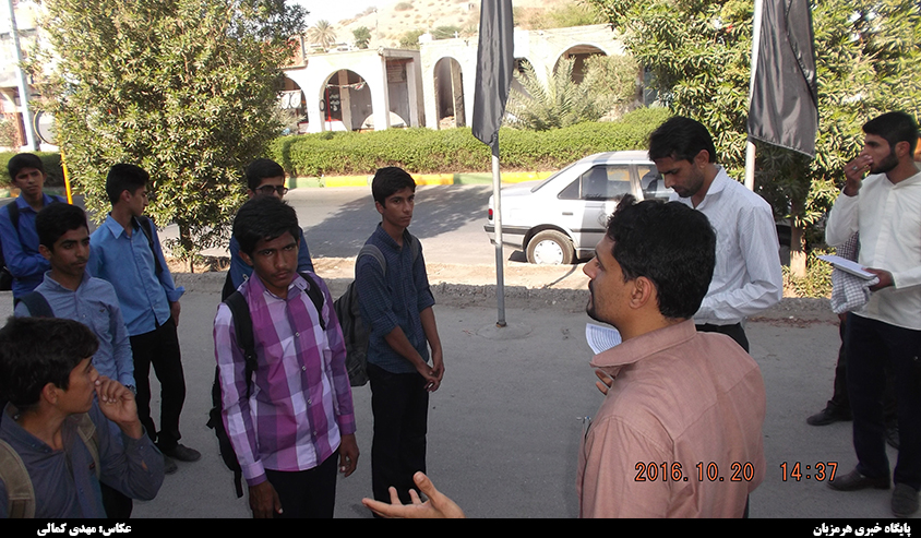 40 نفر از دانش آموزان شهرستان میناب به اردوی راهیان نور (خوزستان) اعزام شدند + تصاویر