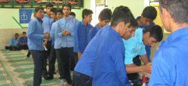برگزاری انتخابات شورای دانش آموزی (مدرسه آیت الله طالقانی)