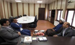دیدار دانشور مدیرکل ورزش و جوانان استان هرمزگان با جهانگیری فرماندار شهرستان حاجی آبادوبازدیداز فضاهای ورزشی