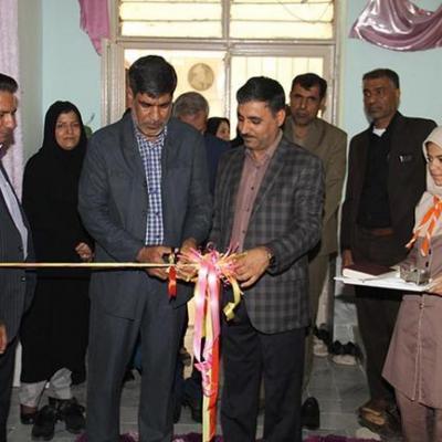 افتتاح نمایشگاه ادبی در دبیرستان عصمتیه ناحیه یک بندرعباس