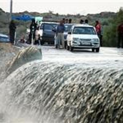 توقف عملیات جستجوی جسد جوان بستکی بهعلت طغیان رودخانه