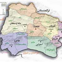چرا خراسان شمالی این بار رای بیشتری به رقیب روحانی داد؟! علت رای بالاتر مردم شهرستان راز و جرگلان به حسن روحانی