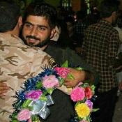 گزارش تصویری/ بازگشت غرور آفرین مدافعان حرم به هشت بندی