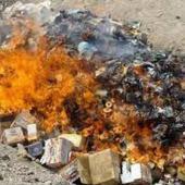 معدوم سازی بیش از ۳۵ تن کود آلوده در پارسیان