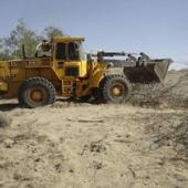 رفع تصرف ۲۳ هکتار زمین ملی در سیریک