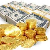 نرخ سکه طلا و ارزهای عمده در بازار آزاد تهران ریزش کرد
