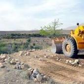 رفع تصرف ۴۲۲۲۰ متر مربع از اراضی ملی شهرستان میناب