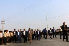 ۳۵ پروژه عمرانی در شهرستان میناب افتتاح و کلنگ زنی شد+ تصاویر