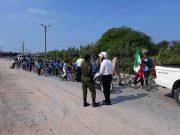 گزارش تصویری/ برگزاری تور دوچرخهسواری به مناسبت دهه فجر در جزیره ابوموسی