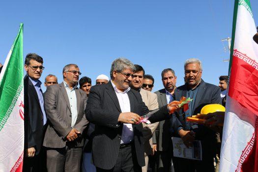 ۱۴ پروژه عمرانی در شهرستان جاسک افتتاح و کلنگ زنی شد+ تصاویر