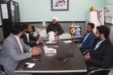 دیدار مسئولین اتحادیه انجمن های اسلامی استان هرمزگان با مدیر آموزش و پرورش ابوموسی