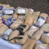 کشف بیش از نیم تن مواد افیونی در شهرستان پارسیان