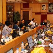 جلسه ی اضطراری تامین منابع آب با حضور مهندس حاج رسولی ها مدیر شرکت مدیریت منابع آب ایران برگزار شد