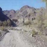 کمبود روکش آسفالت جاده در روستای درجک + فیلم
