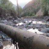 نوسازی ۲۰ کیلومتر از لولههای فرسوده انتقال آب شهرستان سیریک