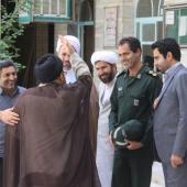 گزارش تصویری دیدار فرمانده جدید سپاه کوهدشت با رئیس و اساتید حوزه علمیه