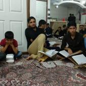 گزارش تصویری محفل قرآنی مجمع قرآنیان بقیةالله خرمآباد