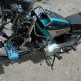 یک کشته و ۳ زخمی حاصل برخورد ۳ دستگاه موتورسیکلت