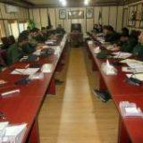 اولین جلسه ستاد مهارت آموزی سپاه پاسداران هرمزگان برگزار شد