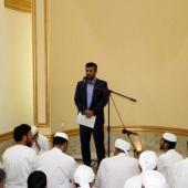 حضور مدیر کل راهداری و حمل و نقل استان در نماز جمعه اهل سنت بندر خمیر