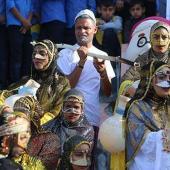 """کارناوال """"دوستان آب"""" با حضور ۱۰ هزار دانش آموز ابتدائی در شهرستان میناب"""