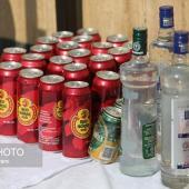 کشف ۱۵۰۰ لیتر انواع مشروبات الکلی دستساز در میناب