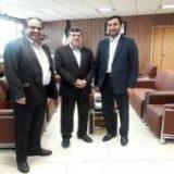 دیدار استاندار هرمزگان با معاون وزیر دادگستری و رئیس سازمان تعزیرات حکومتی کشور