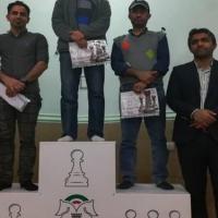 بستک | محمدزمان قهرمان مسابقات شطرنج جام دهه فجر