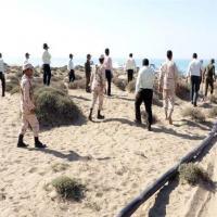 خط لوله ده کیلومتری انتقال سوخت قاچاق در بزرگترین جزیره خلیج فارس